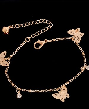 Butterfly Anklet Bracelet