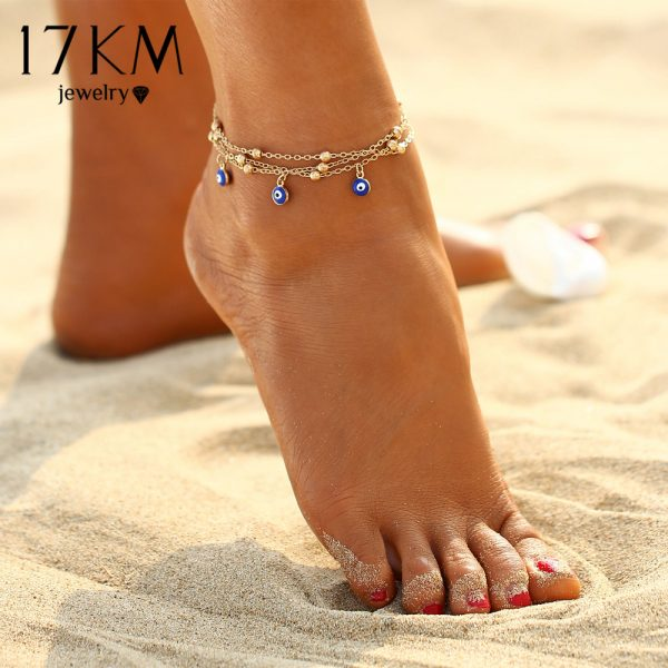 Eyes Beads Anklets