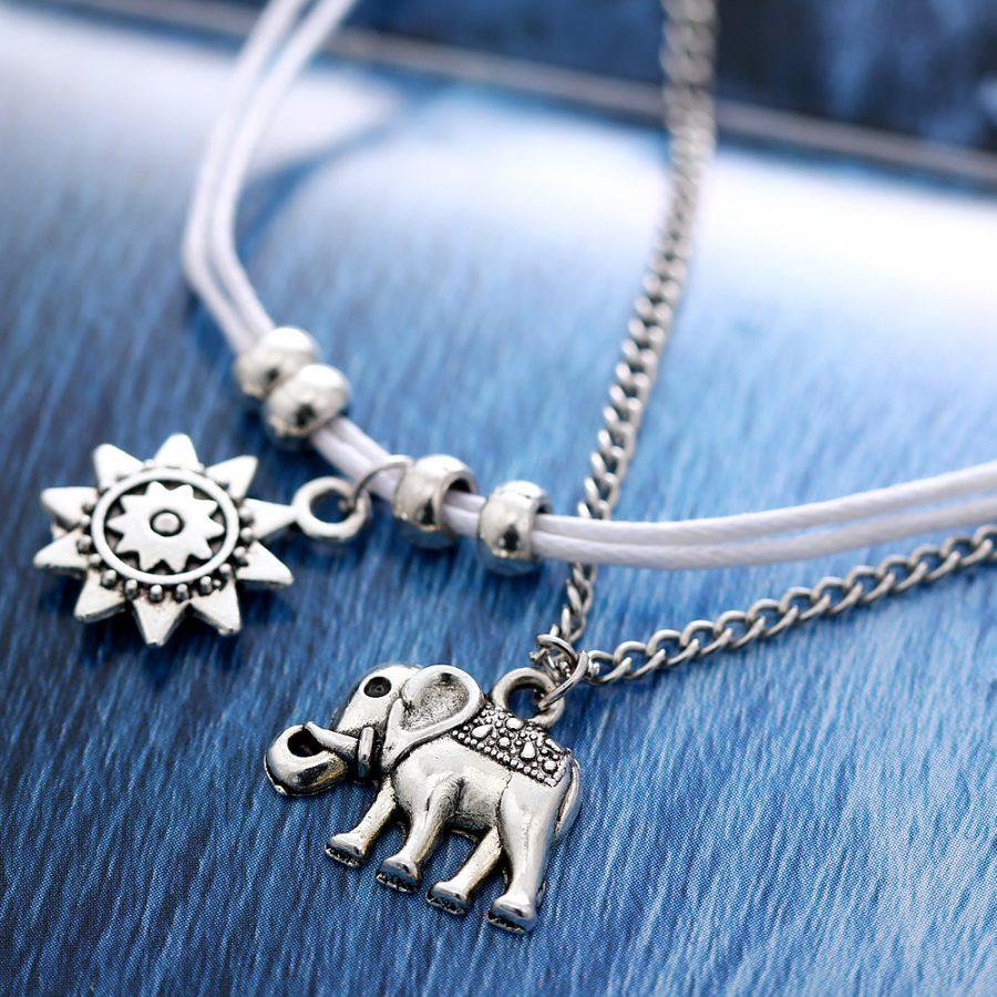 Sun Elephant Anklet