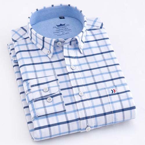 Striped Oxford Dress Shirt