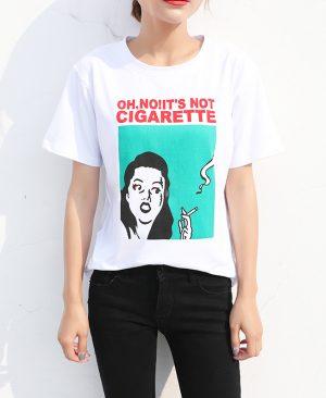 Casual White T Shirt