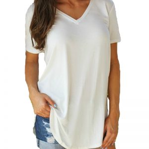 Casual Tee Shirt Tops