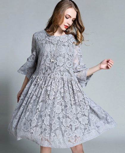 Babydoll Lace Dress