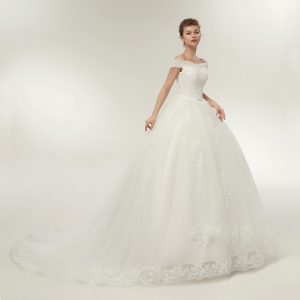 Train Wedding Dresses