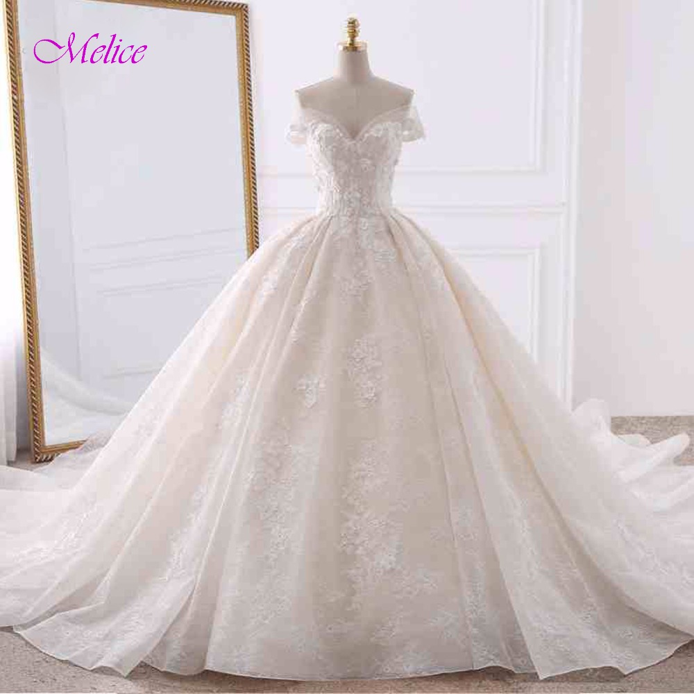 d5d7a2e3356 Princess Wedding Dresses Ball Gown Bridal Dress - Lalbug.com