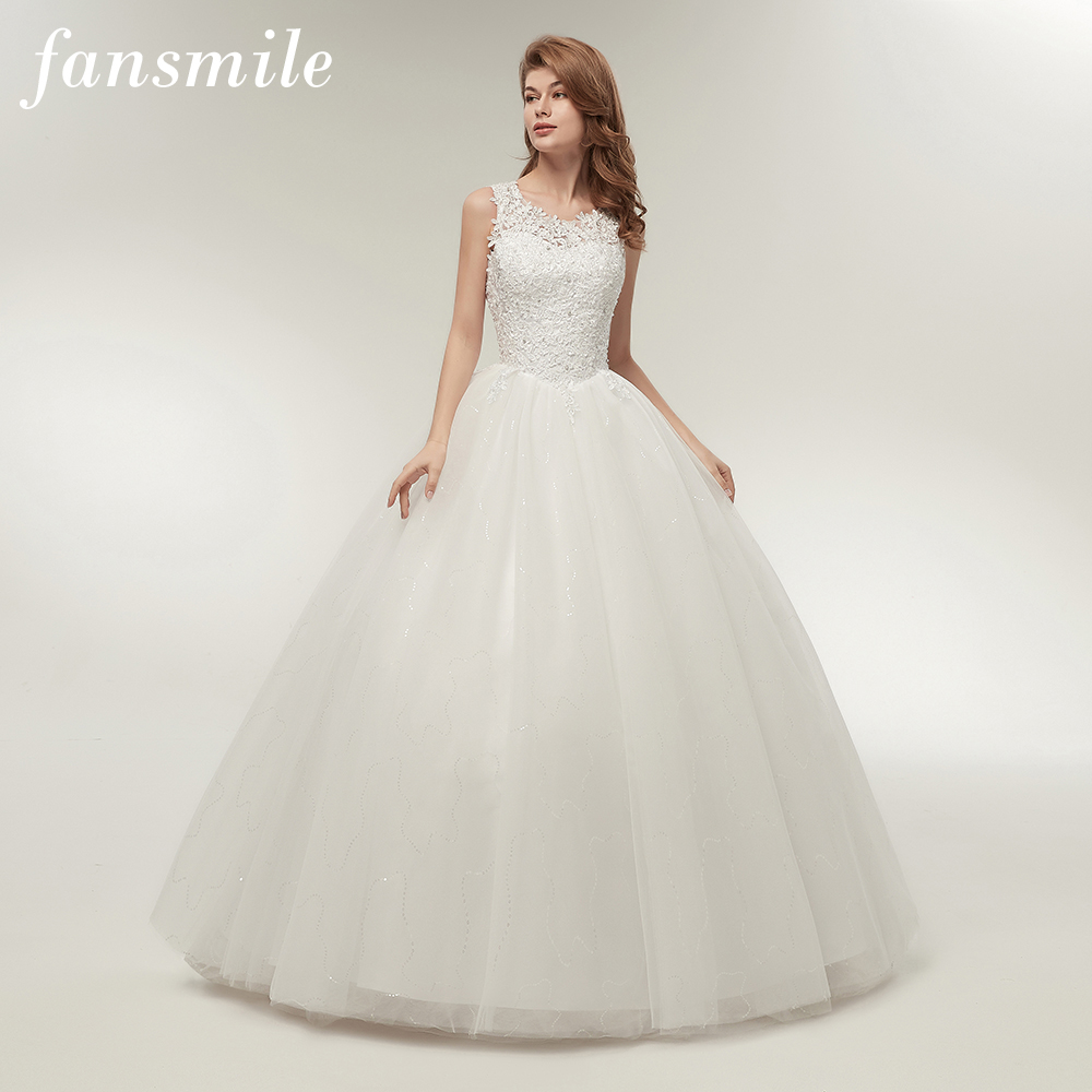 Korean Lace Up Ball Gown Quality Wedding Dresses   Lalbug.com