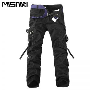 Solid Men's Cargo Pants