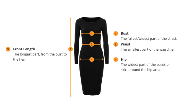 How to Measure Dress