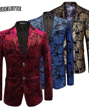 Paisley Floral Jackets