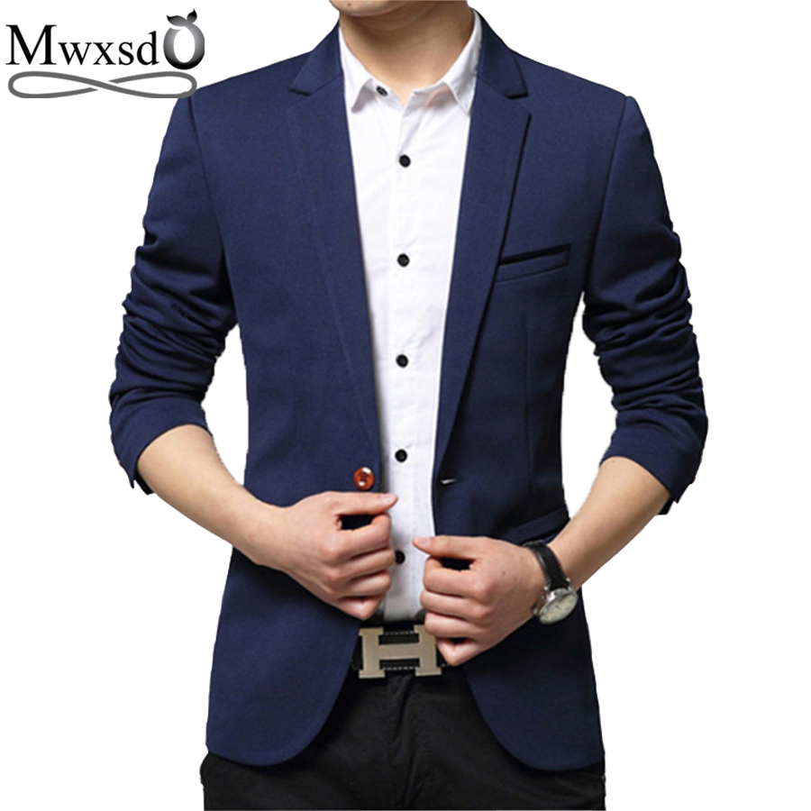 Blazers Jackets Mens: Men's Casual Suit Blazer Jacket Wedding Blazers