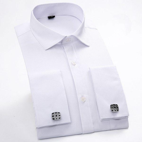 French Cufflinks Shirt