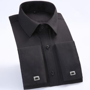 French Cufflinks Shirt