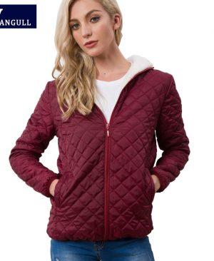 lamb hooded Coats