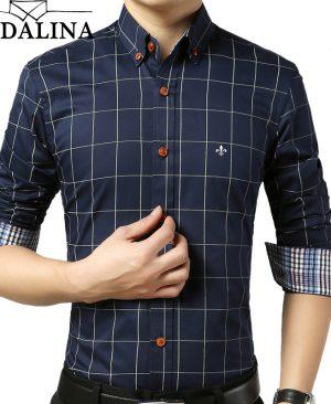 Male Plaid Shirt