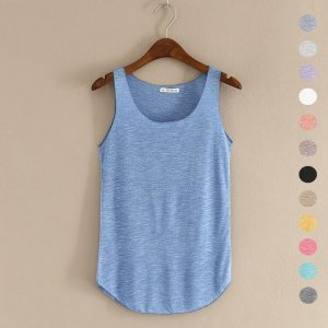 Summer Fitness Tank Top Women T-shirt