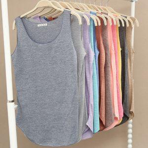 Summer Fitness Tank Top Women T-shirt