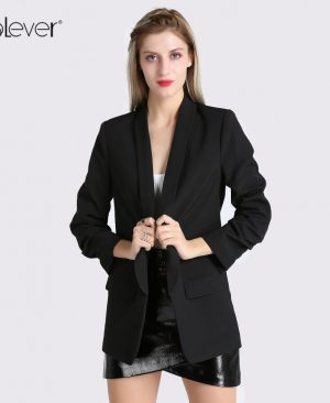 Women Blazers Jacket Casual Slim Blazer Coat