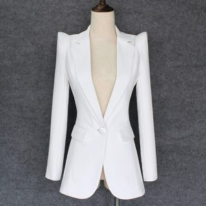 Stylish Designer Blazers Single Button Blazer Jacket