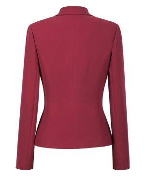 Women Blazers Jackets Fashion Single Button Blazer
