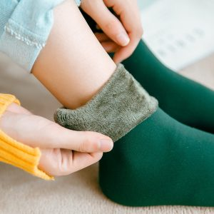 Wool Cashmere Snow Socks Floor Sleeping Socks