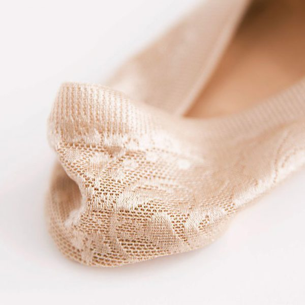 Lace Flower Short Sock Antiskid Invisible Ankle Socks