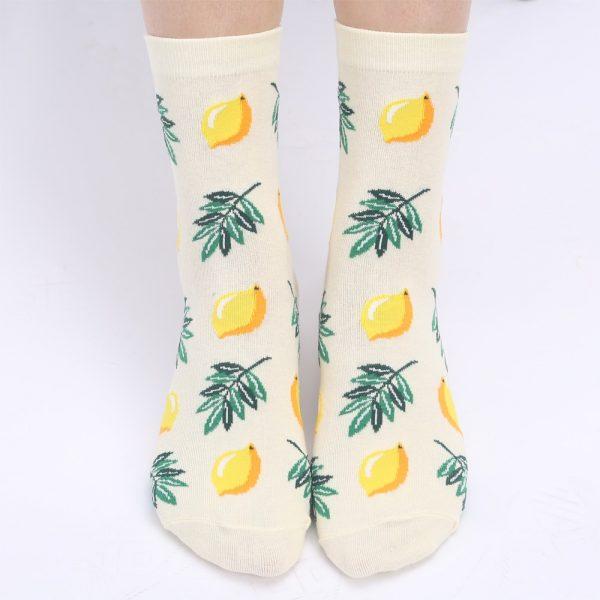 Women's Socks Japanese Cotton Avocado Socks