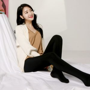 Women Winter Tights Elastic Velvet Warm Pantyhose