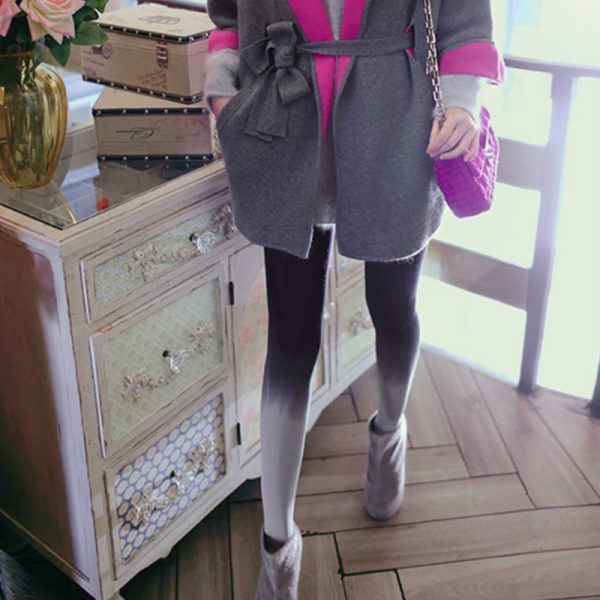 120D Velvet Tights Opaque Seamless Stockings