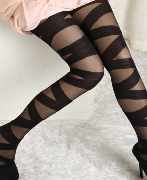 Black Sexy Fishnet Stockings Pantyhose Tights