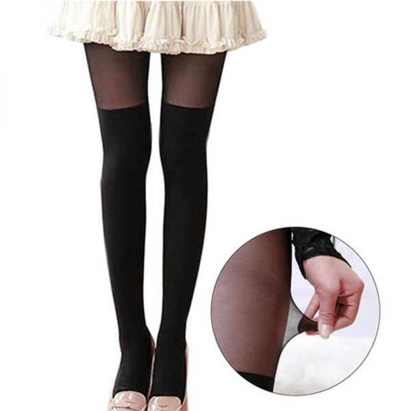 Tights Pantyhose Women Sexy Stockings Cat Print