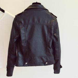 PU Leather Jacket Faux Soft Leather Coat