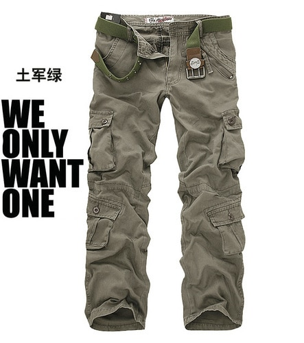 Casual Pants Camouflage Trousers Military Pants