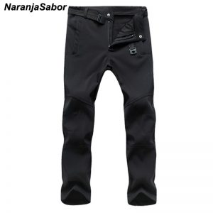 Men's Casual Pants Men Thick Trousers