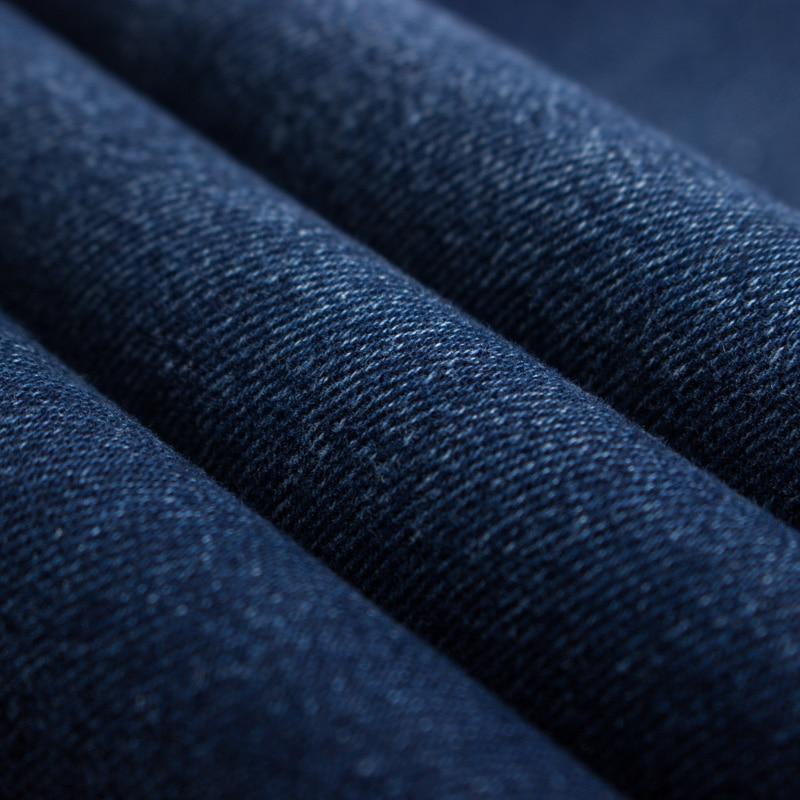 Autumn Winter Jeans Men Denim Trousers Pants