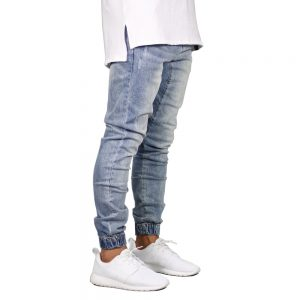 Fashion Stretch Men Jeans Denim Joggers Pant