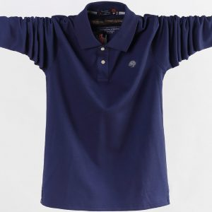 Men Polo Shirt Fashion Business Casual Shirt