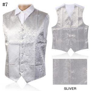 Men Waistcoats Slim Fit Men Vest Suit