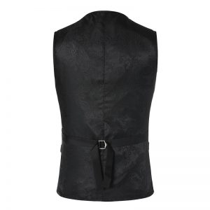 Luxury Printed Steampunk Vest Prom Suit Vest