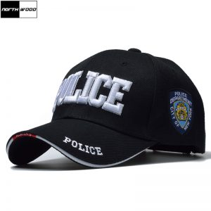 POLICE Men Tactical Cap SWAT Baseball Cap