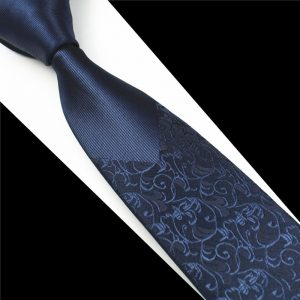 Skinny Men Ties Luxury Man Floral Dot Neckties