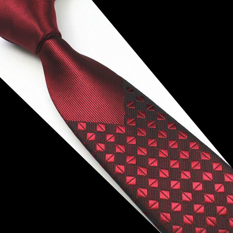 Skinny Men Ties Luxury Man Floral Dot Neckties