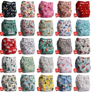 Reusable Cloth Pocket Nappy Diaper Cover Wrap