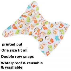 Reusable Digital Printed Baby Cloth Diaper
