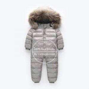 Russian Winter Snowsuit Boy Baby Jacket