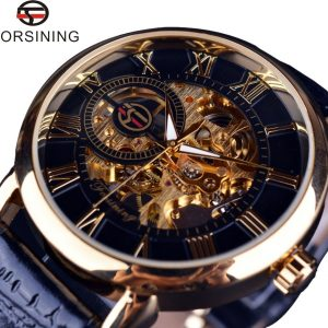 3d Logo Design Skeleton Mechanical Watches