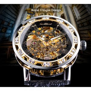 Retro Luminous Watch Skeleton Wrist Watches