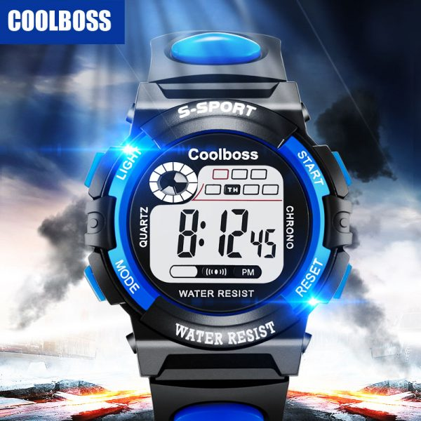 Sport Children Watch Kids Watches Digital Wristwatch