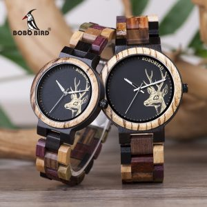 Lover Quartz Watch Wooden Women Watches