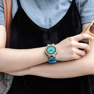 Wooden Couple Watches Men Quartz Ladies Watch