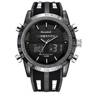 Men Sports Watches Waterproof LED Digital Quartz